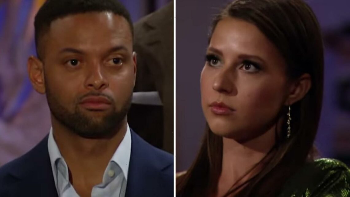 Bachelorette Katie Thurston sends Karl Smith home after the other men call out 'lying' contestant in explosive ceremony