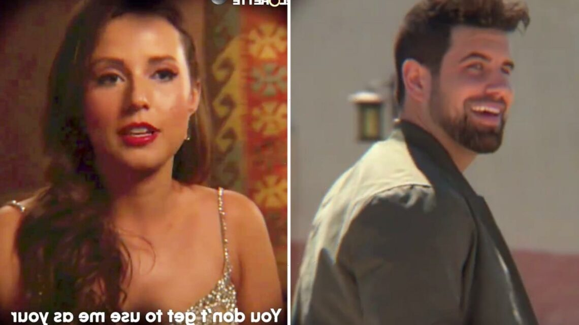 Bachelorette Katie Thurston slams suitors for 'using her' for their careers before Blake Moynes returns to show