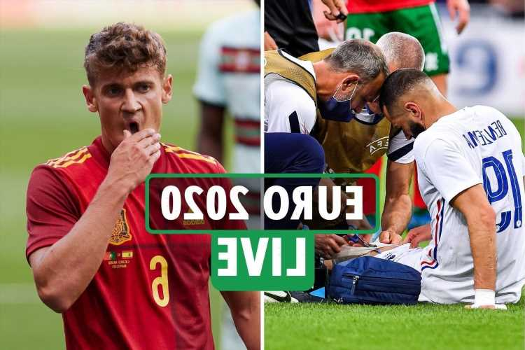 Benzema injury LATEST, Spain vs Sweden under threat after second positive Covid test – Euro 2020 live
