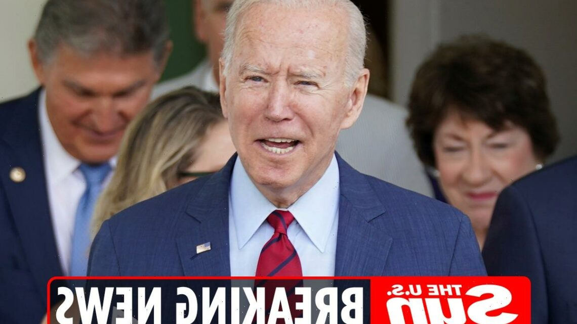 Biden announces deal reached on $1 TRILLION infrastructure package after 'compromises from' GOP & Dems