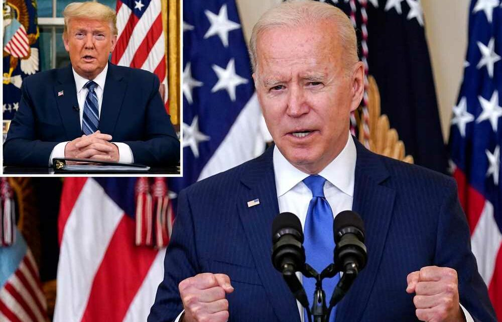 Biden flips Trump ban, orders fed agency trainings on 'systemic and institutional racism'