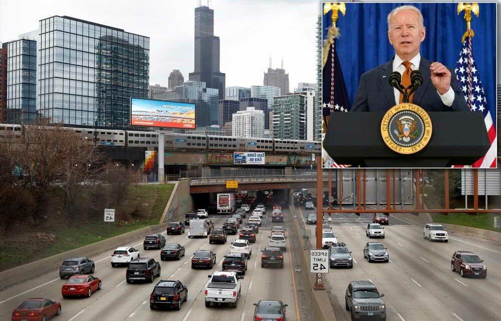 Biden shoots down latest GOP infrastructure proposal