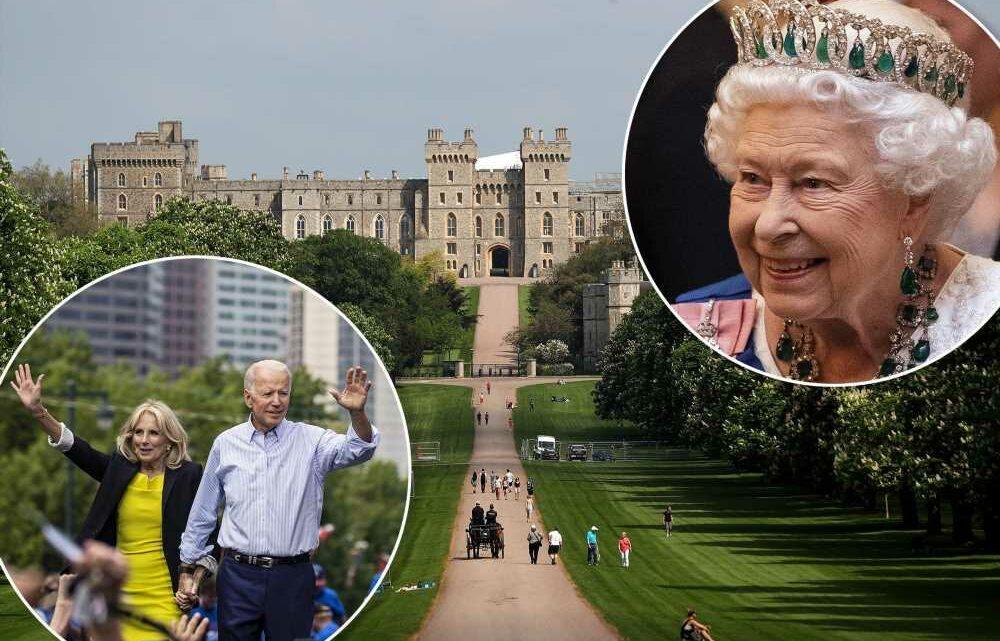 Biden to meet Queen Elizabeth at Windsor Castle next weekend