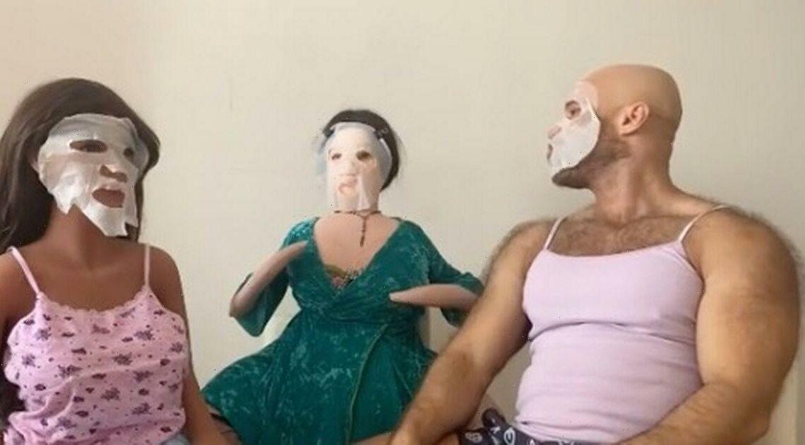 Bodybuilder who married sex doll puts masks on new brides to 'rejuvenate' them