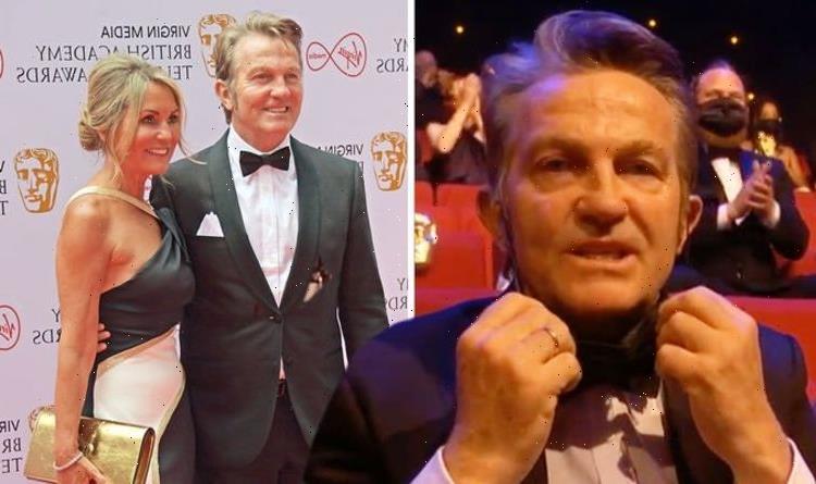 Bradley Walsh's wife Donna oozes glamour at BAFTAs as he brands award snub 'a joke'