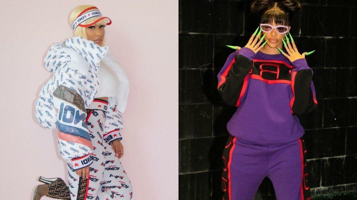 Cardi B Shuts Down Claims She Wanted to Knock Nicki Minaj Out