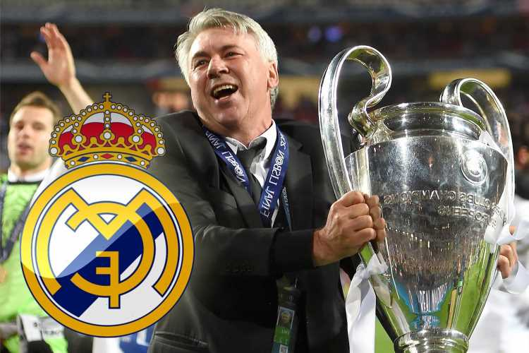 Carlo Ancelotti CONFIRMED as new Real Madrid manager as Everton boss makes shock return to Bernabeu to replace Zidane