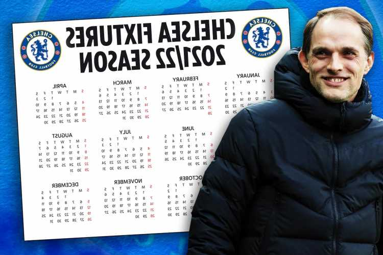 Chelsea Premier League fixtures 2021/22: Blues in tough start with Liverpool, Man City and Arsenal in first six games