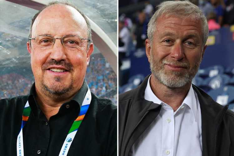 Chelsea owner Roman Abramovich 'recommends Rafa Benitez to Everton board after being impressed by Spaniard in 2012'