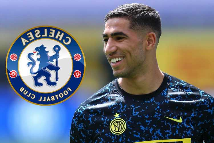 Chelsea 'could enter Achraf Hakimi bidding war' as they join Arsenal and PSG in transfer for £70m Inter star
