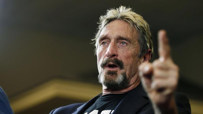 Cybersecurity software pioneer John McAfee found dead in jail cell