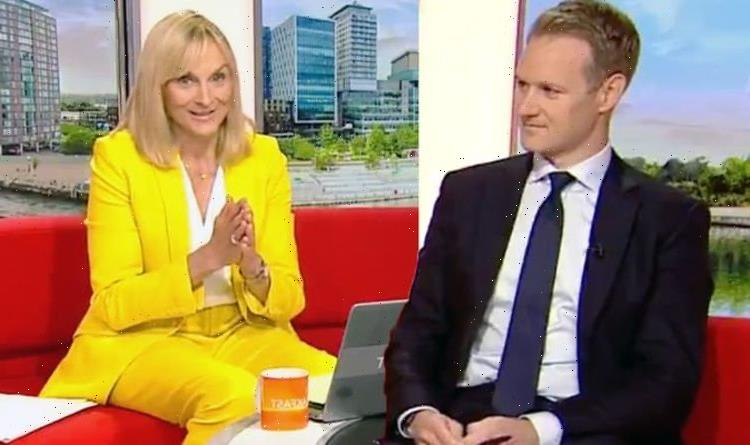 Dan Walker speaks out after emotional co-host Louise Minchin QUITS BBC Breakfast on air