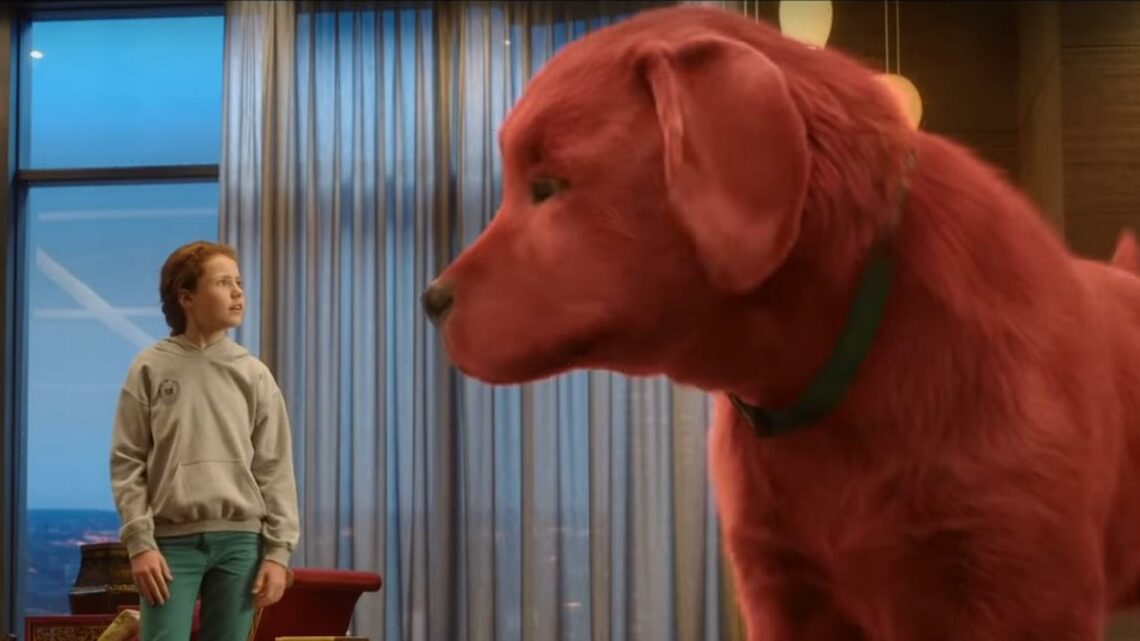 Darby Camp Stars In Clifford The Big Red Dog Trailer  Watch Now!