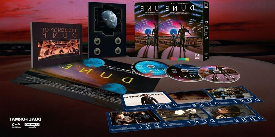 David Lynch's 1984 Epic 'Dune' Is Receiving a 4K SteelBook Release