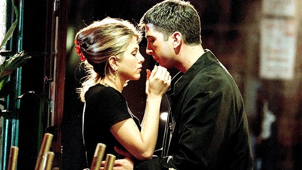 David Schwimmer Cuddles With 'Crush' Jennifer Aniston In Never-Before-Seen 'Friends' Reunion Pic