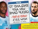 England 25/1 to win ANY Group D fixture at Euro 2020 with Sky Bet special offer