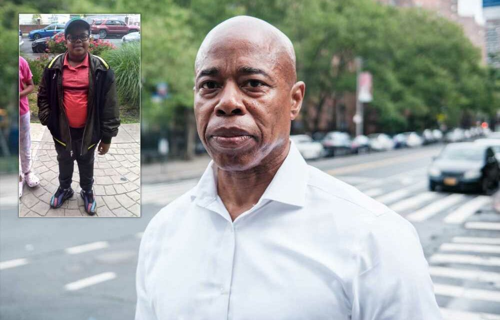 Eric Adams calls shooting death of Queens 10-year-old 'crushing'