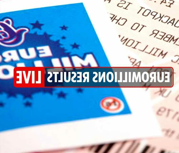 EuroMillions results LIVE: National Lottery numbers and Thunderball draw tonight, June 8, 2021