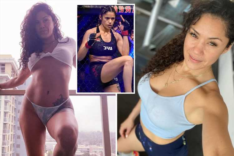 Ex-UFC stunner Pearl Gonzalez is latest MMA star to take up bare-knuckle boxing after Paige VanZant and Rachael Ostovich