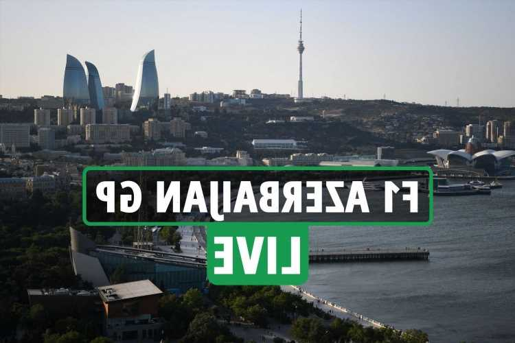 F1 Azerbaijan Grand Prix LIVE: FP1 latest updates as Hamilton looks to overhaul Verstappen in world championship