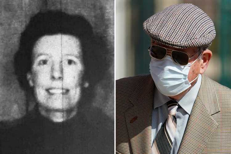 Farmer, 88, appears in court charged with murdering wife after body was found in septic tank 37 YEARS after vanishing