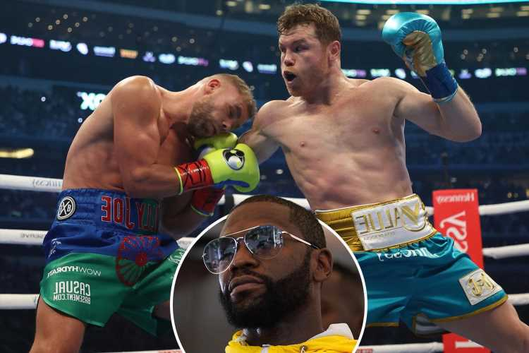 Floyd Mayweather taunts Canelo Alvarez over Billy Joe Saunders victory on DAZN and claims he didn't even watch fight