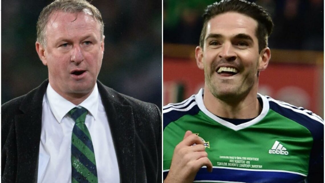 Former Norwich star Kyle Lafferty held a GUN to Michael O'Neill's head during Northern Ireland's Euro 2016 party – The Sun