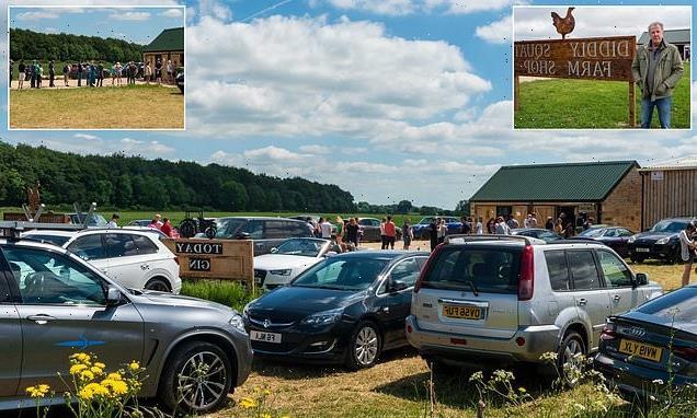 Fury of villagers living near Jeremy Clarkson's Didley Squat farm shop