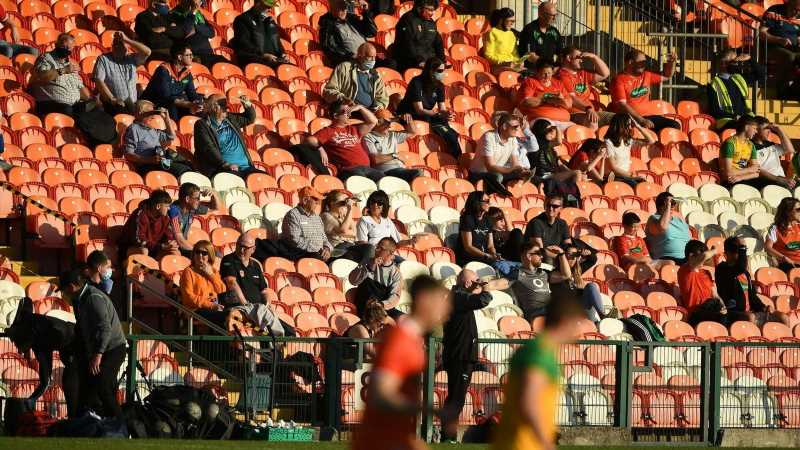 GAA confirms return of supporters: Up to 200 fans can attend intercounty matches from June 7