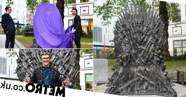 Game of Thrones' Iron Throne lands in Leicester Square to mark 10th anniversary
