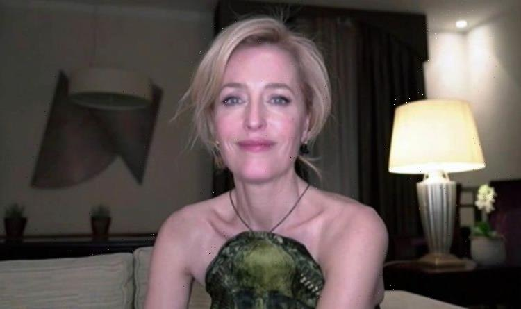 Gillian Anderson: I fled back to the UK after breakdown hell filming X Files