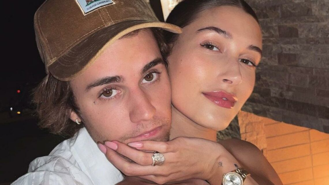 Hailey Baldwin Slammed for Her Revealing Dress During French President Meeting With Justin Bieber