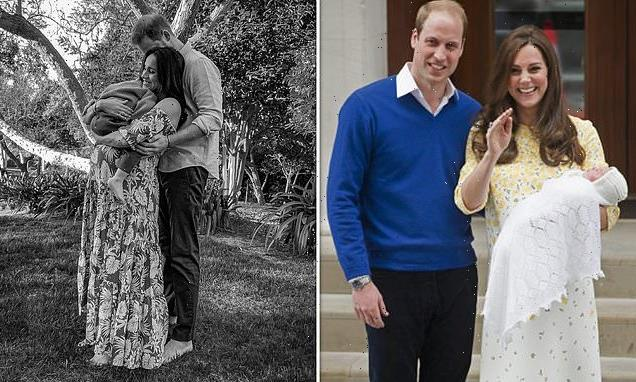 How does Baby Sussex weight compare to Archie, George, Charlotte,Louis