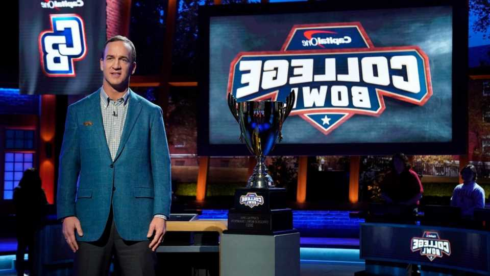 How to watch 'College Bowl': Everything to know about Peyton Manning's new NBC quiz show