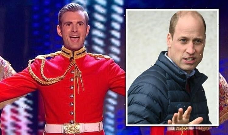 'I pulled a sword on future King of England' BGT star recalls worrying stunt with William