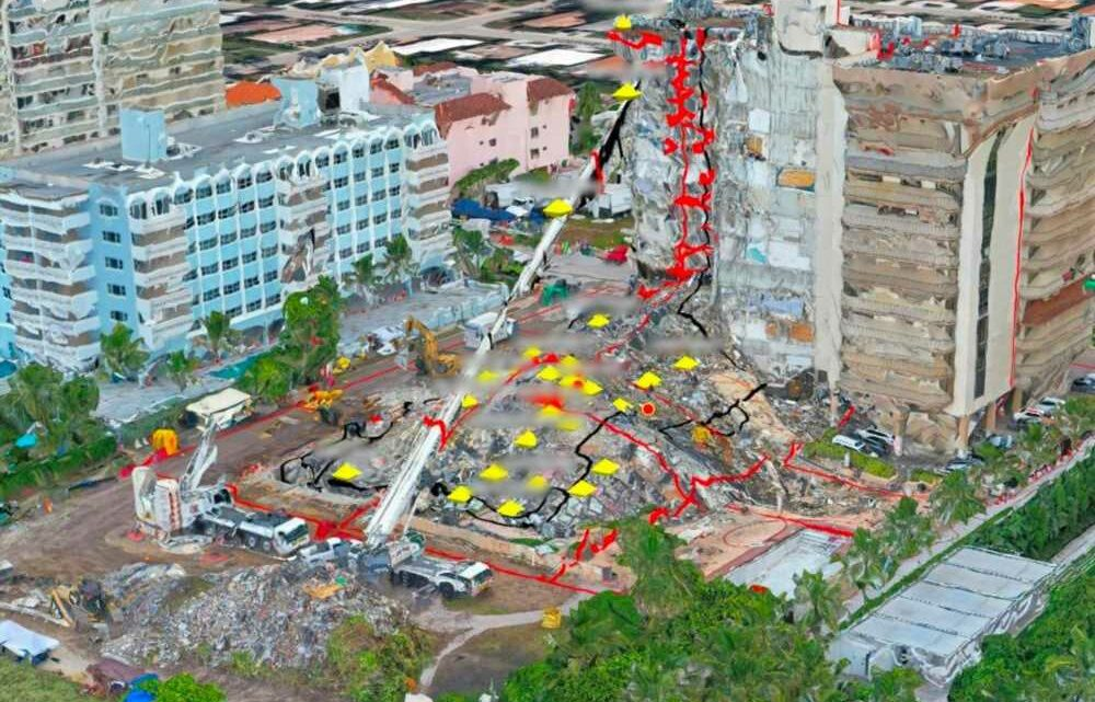 Israeli army forms 3D images of fallen Florida condo to find victims