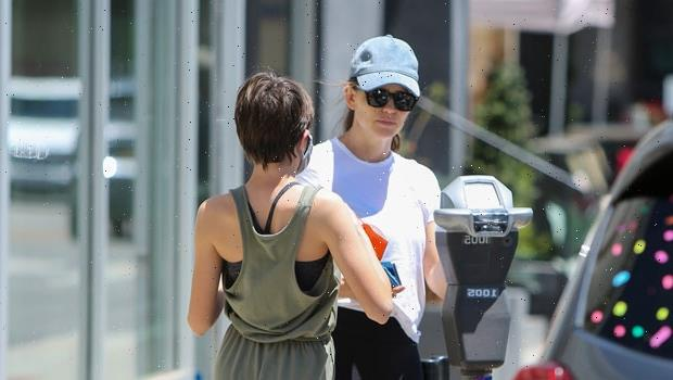 Jennifer Garner & Daughter Seraphina, 12, Step Out For Smoothies After Her 6th Grade Graduation