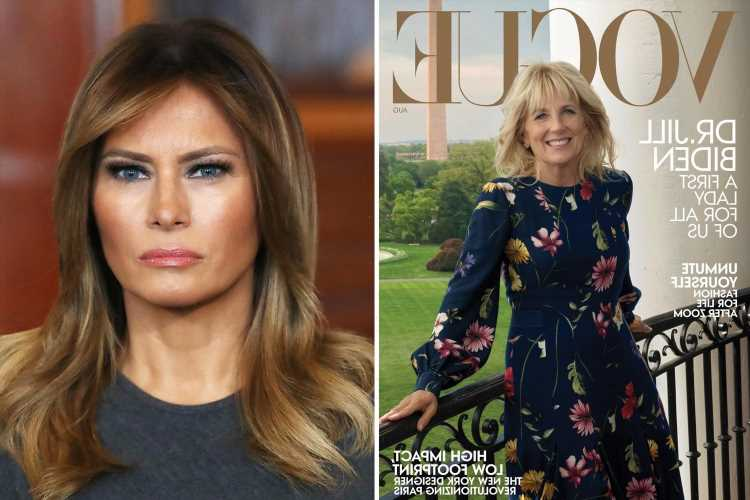 Jill Biden gets the Vogue cover Melania Trump always wanted and says she will 'never waste' her First Lady platform