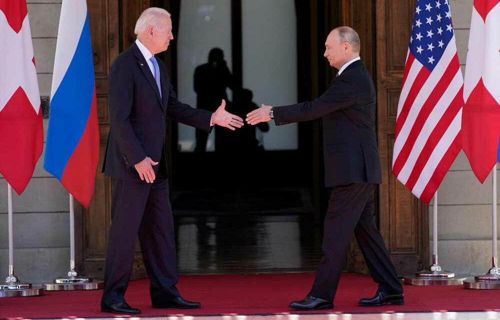 Joe Biden's a Putin-like polarizer: Devine