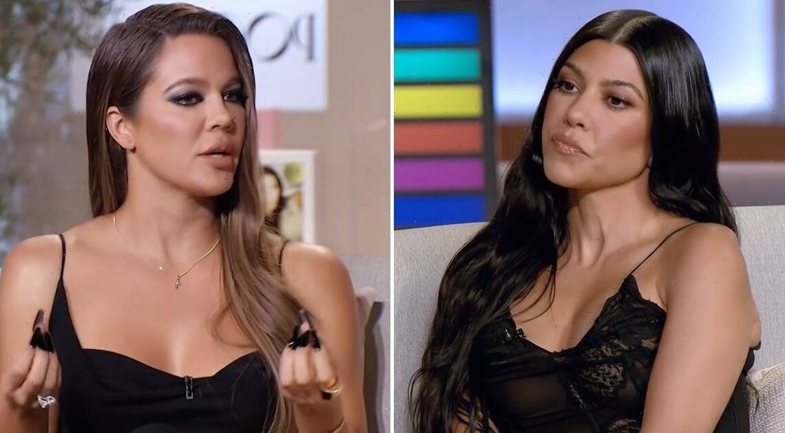 Khloé Kardashian Reveals the Reason Kourtney's Love Life Wasn't Shown on KUWTK