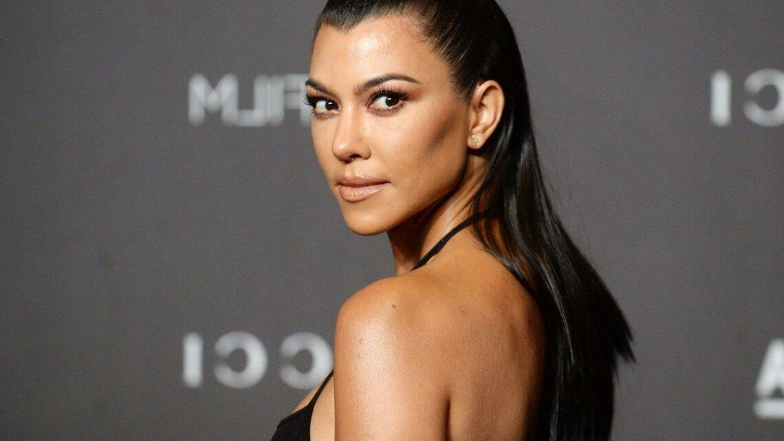 Kourtney Kardashian Uses This Bestselling Cleansing Water Every Night