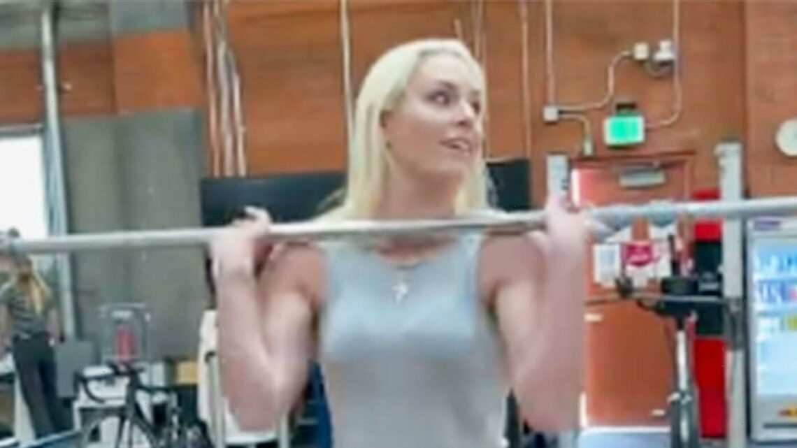 Lindsey Vonn, 36, Crushes A Strength Workout Wearing Jeans And Heels In New Instagram Video