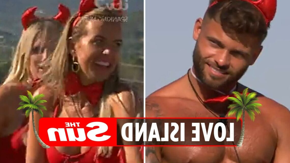 Love Island fans livid as Faye Winter makes snide comment about Jake Cornish's HEIGHT in saucy challenge