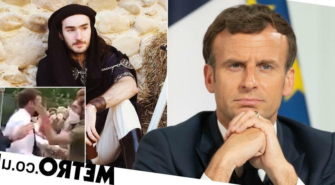 Man filmed slapping President Macron 'over the decline of France' jailed