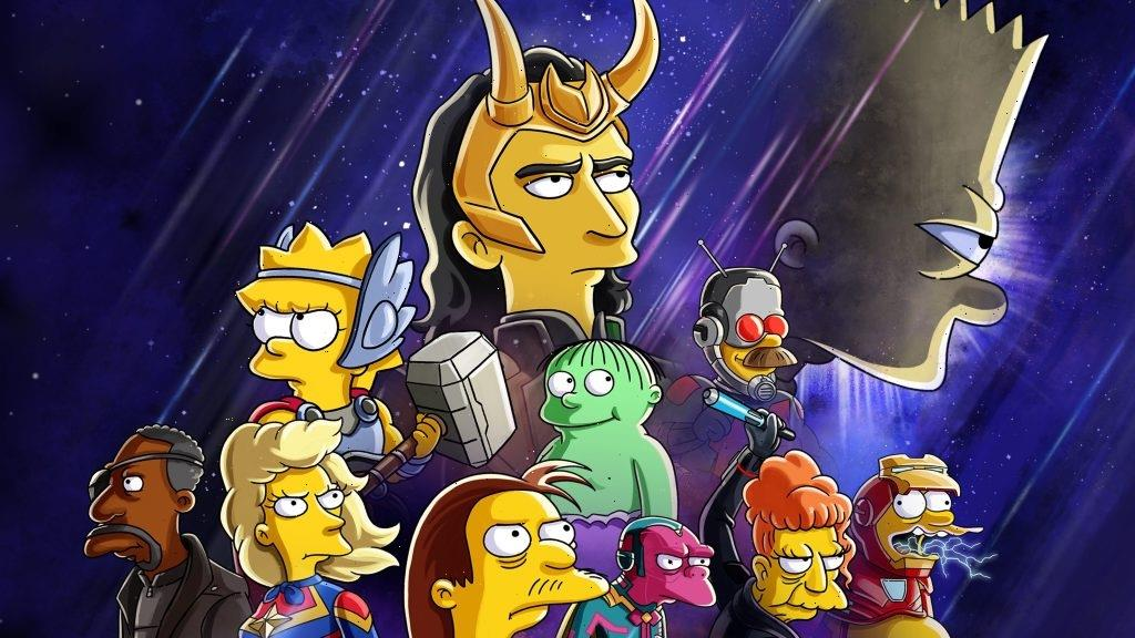 Marvel-Themed Simpsons Short Featuring Tom Hiddleston To Debut On Disney+ In July