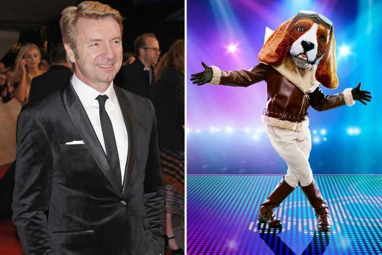 Masked Dancer star Christopher Dean reveals final clue that told viewers he was Beagle – but did you spot it?