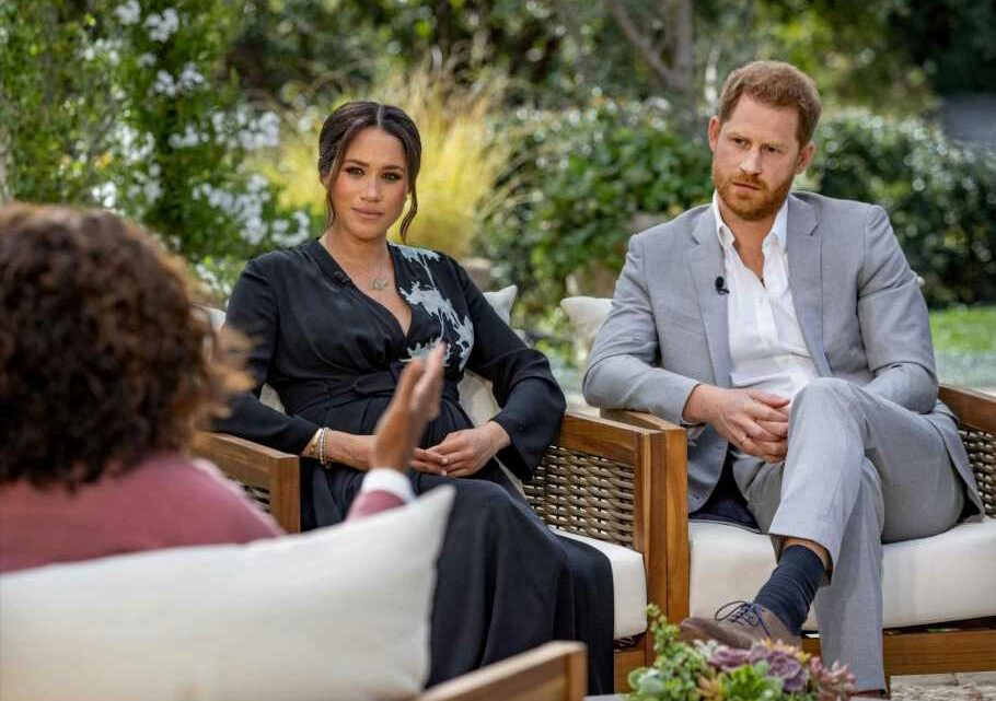 Meghan Markle and Prince Harry 'told Royals they DIDN'T want Archie to be a prince – then moaned to Oprah he wasn't one'