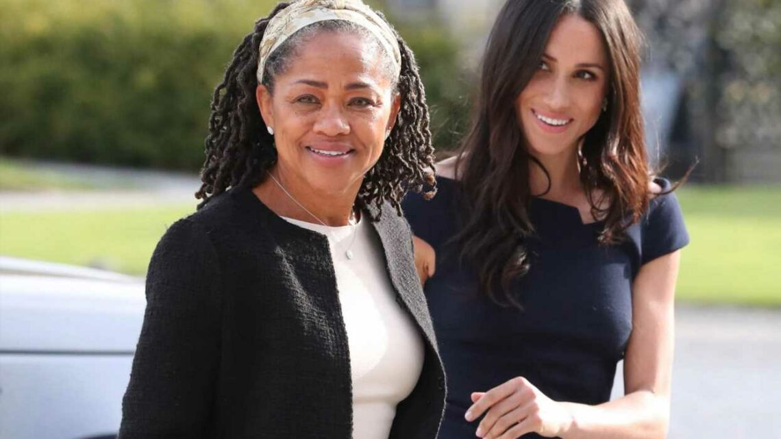 Meghan Markle's mother is helping out with baby Lilibet