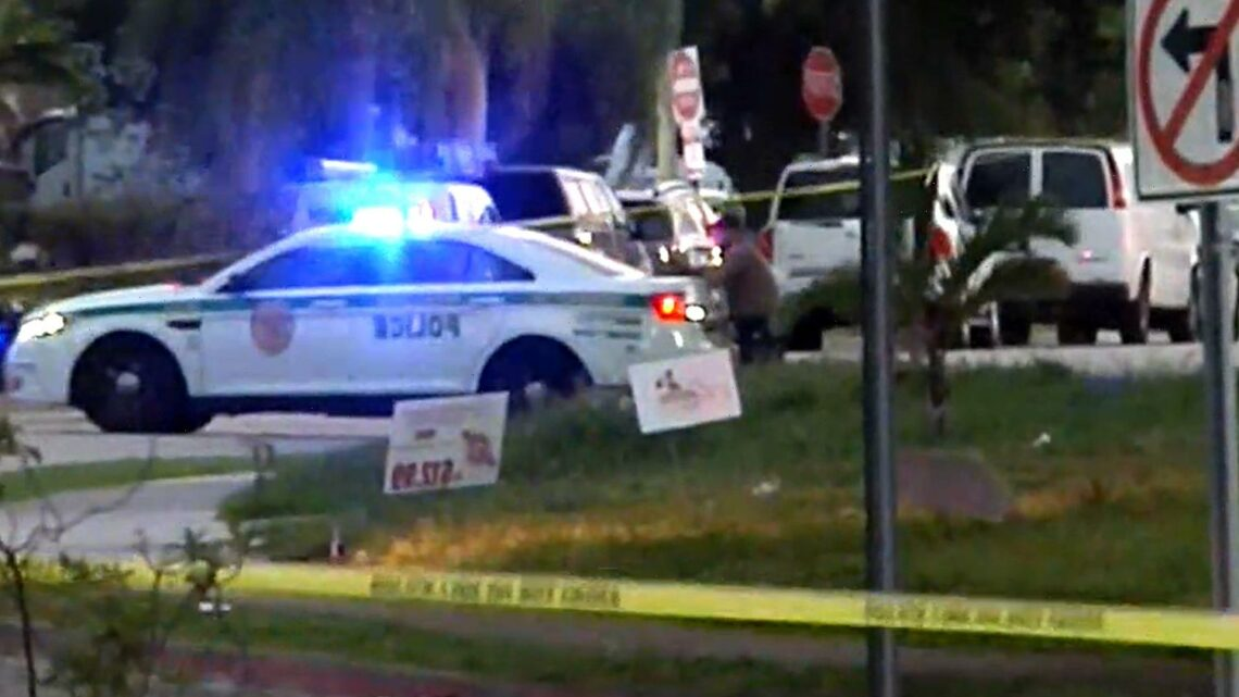 Miami mass shooter.kills three and wounds five after opening fire at graduation party