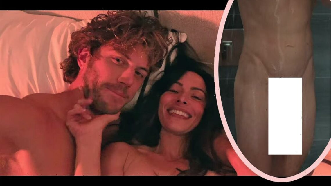 Netflix Viewers Confused & Astounded By Sex/Life Star's HUGE Penis In Shower Scene – Is It Real?!